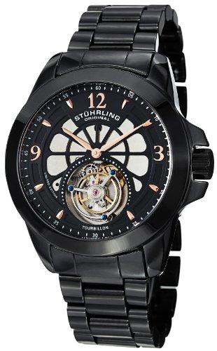 en's 475.33OB41 Tourbillon Specter Limited Edition Mechanical Black Ceramic Watch ()