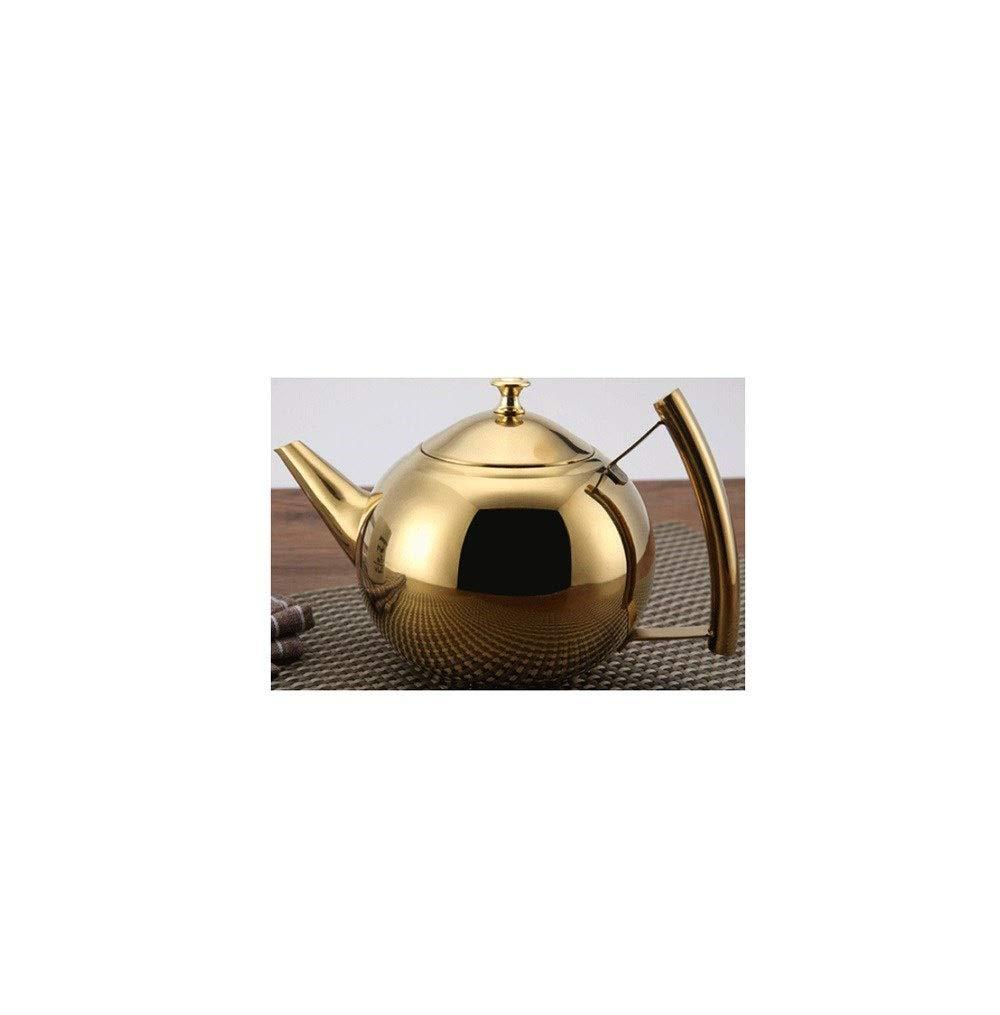 Acquisto Pentola della perla della teiera dell'acciaio inossidabile con il fornello di induzione della caffettiera del filtrante con il bollitore per la casa della teiera Prezzi offerta