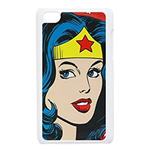 Custom Super Woman Back Cover Case for ipod Touch 4JNIPOD4-192