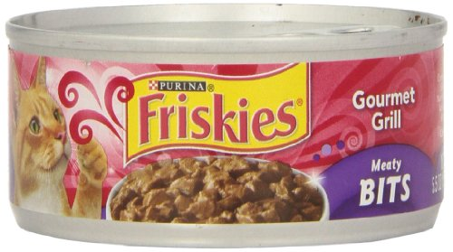 Friskies Friskies Meaty Bits Gourmet Grilled, 5.5-Ounce (Pack of 24) For Sale