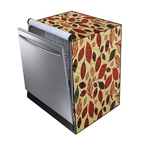 GURU-ISHMA Printed Dishwasher Cover for Amazon Basics 12 Place Setting Dishwasher