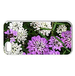 Pastel - Case Cover for iPhone 5 and 5S (Flowers Series, Watercolor style, White)