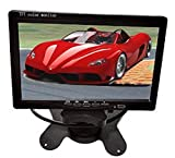 Auto safety 7 Inch LED Backlight TFT LCD Monitor Rearview Monitor screen for Car Backup Rearview Cameras, Car DVD, Serveillance Camera, STB, Satellite Receiver and other Video Equipment,