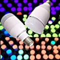 Ladiy Multi-Color Remote Control Bluetooth Smart LED Light Bulb Music Bulbs LED Bulbs