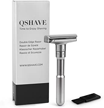 Máquina de afeitar ajustable QSHAVE con doble borde infinito ...