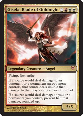 Magic: The Gathering - Gisela, Blade of Goldnight - Avacyn Restored