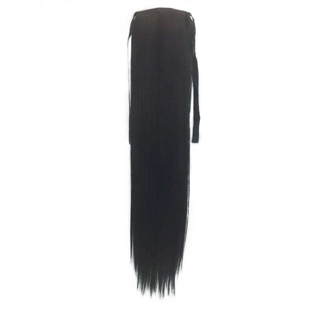 WKHQQ-Peluca Sombrero Peluca de Moda para Mujer con Corbata Recta ...