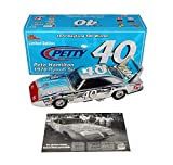 AUTOGRAPHED 1970 Richard Petty #40 Pete Hamilton Plymouth Superbird DAYTONA 500 WIN Chrome Signed Racing Champions 1/24 Scale NASCAR Diecast Car with COA (#32 of only 72 produced!)