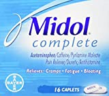 Product review for Midol Complete Multi-Symptom Relief, Maximum Strength, Caplets, 16 ct.