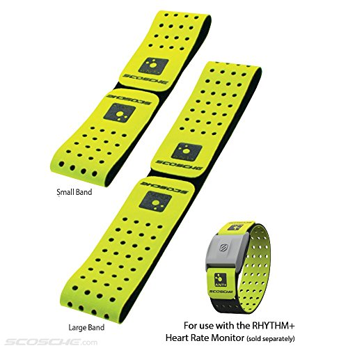 Scosche Rhythm+ Replacement Strap - Green Strap For Scosche Rhythm+ Optical Heart Rate Monitor Armband