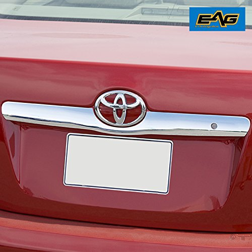 EAG 07-11 Toyota Camry Rear Hatch Cover Tailgate Liftgate Handle Trim Triple Chrome Plated ABS (Abs Chrome Trim)