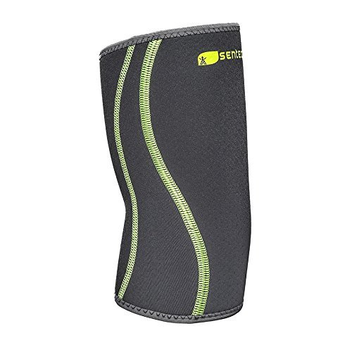 SENTEQ Elbow Support Brace. Compression Support Sleeve for Tendonitis, Tennis Elbow, Golf Elbow. Medical Grade and FDA Approved, L