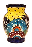 Little Artisans Collection Ceramic Flower Vase Decorative Centerpiece for Home or Wedding, Hand Painted and Handcrafted, Perfect Decorative Tabletop Centerpiece Vase