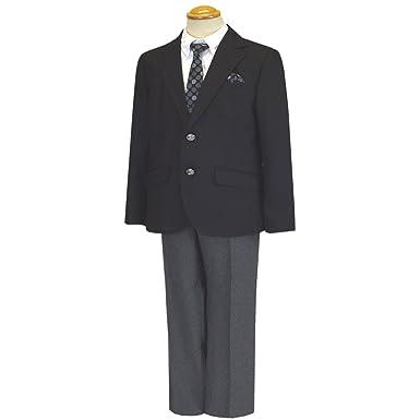 6059e429a42f2 フォーマルスーツ 卒業式 トラッドスタイル ブレザースーツ ゆったりサイズあり 男児 男の子 ボーイズ 冠婚