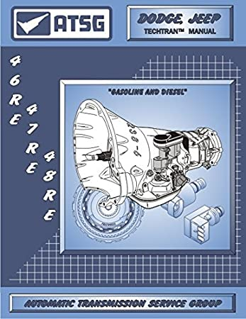 Amazon com: ATSG 46RE 47RE 48RE Transmission Repair Manual
