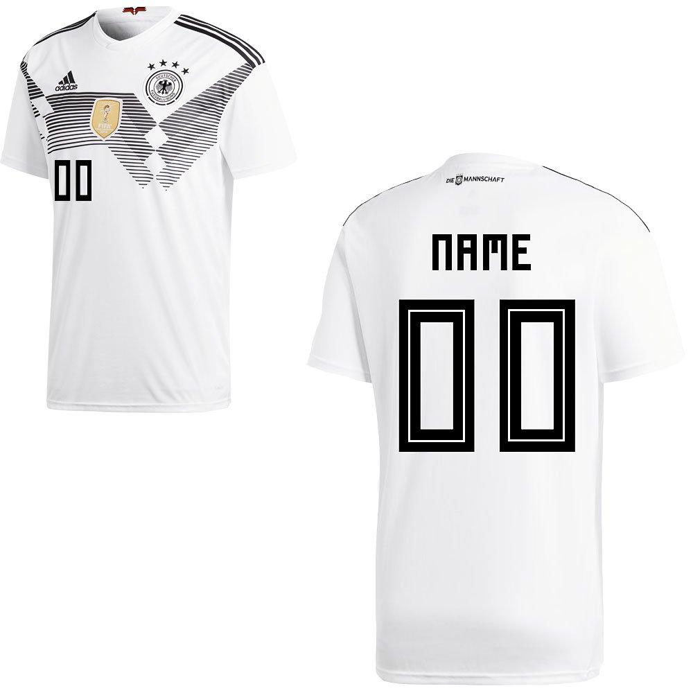 Adidas Maglia Calcio Dfb WM 2018 2018 2018 Germania Bambini, Ihr Wunschname, 152 | Servizio durevole  | In Uso Durevole  | Tecnologia moderna  | Qualità Stabile  | A Prezzi Convenienti  f43629