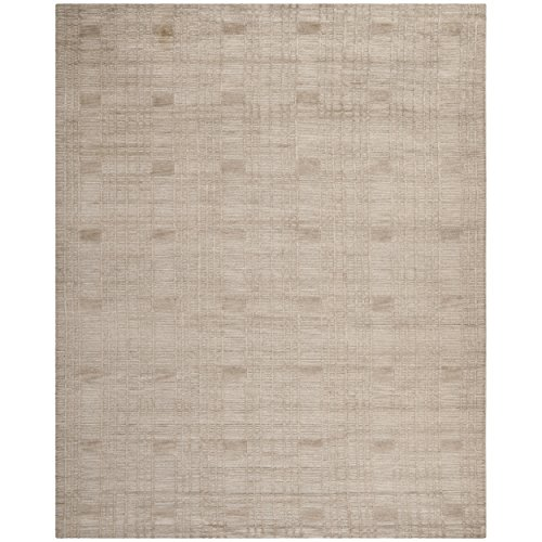 Safavieh Tibetan Collection TB120D Hand-Knotted Slate Wool Area Rug (9' x 12') ()
