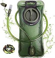 Hydration Bladder 2 Liter Leak Proof Water Reservoir, Military Water Storage Bladder Bag, BPA Free Hydration P
