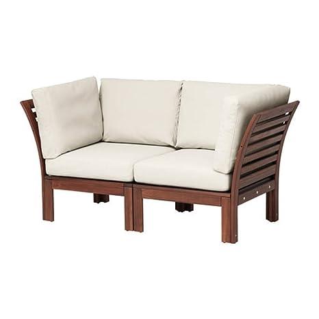 Ikea Applaro Sofá Modular de 2 plazas para Exteriores, Color ...
