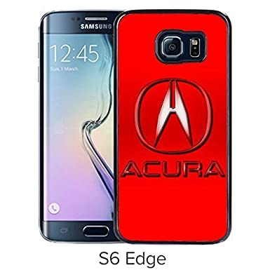 ACURA Logo Samsung Galaxy S Edge Black Phone Case Individuality For - Acura phone case
