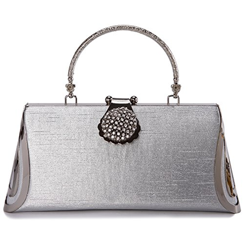 Womens Luxury Shoulder Wristlet Dinner