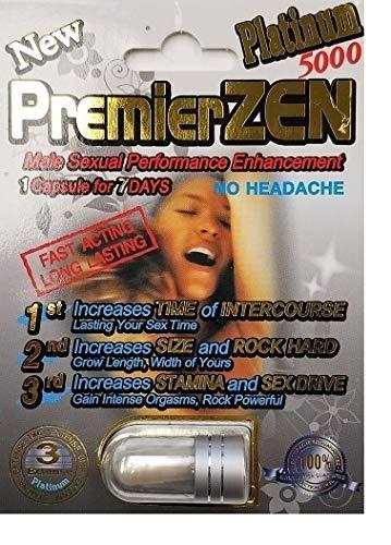 (PremierZen Platinum Male Sexual Performance Enhancer - Authorized Dealer 10 Pills)