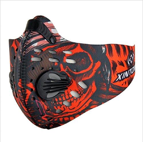 Anti Dust Bicycling Fishing Hunting Bike Motorcycle Racing Ski Snowboard Outdoor Sport Half Face Mask Dustproof Mouth-muffle