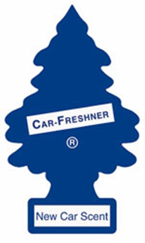 MAGIC TREE 'NEW CAR' AIR FRESHENER PACK OF 5 CAR-FRESHNER CORPORATION SX-160NECAX5
