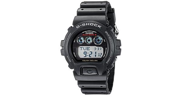 Casio Caballero G-Shock GW6900-1 Black Resin Quartz Reloj with Black Dial: Casio: Amazon.es: Relojes