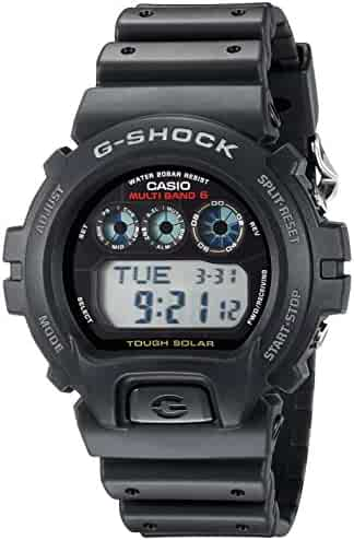 G-Shock GW6900-1 Men's Tough Solar Black Resin Sport Watch
