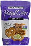 Snack Factory Pretzel Crisps Deli Style Sesame All Natural