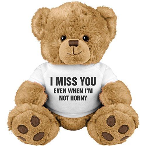 Price comparison product image Funny Valentine's Day Gift Bear: Medium Teddy Bear Stuffed Animal