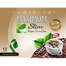 Maximum Slim ORGANIC Instant Cocoa. MOST EFFECTIVE FORMULA for Weight Loss, Fat Burn, and Detox. - As Recommended by Dr. Oz, includes Green Coffee Bean Extract, Garcinia Cambogia, Green Tea Extract, and Ginseng for MAXIMUM RESULTS