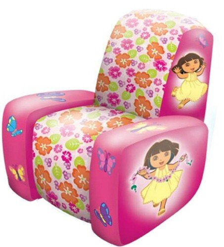 Amazing Amazon Com Inflatable Dora The Explorer Chair By Gamerscity Chair Design For Home Gamerscityorg