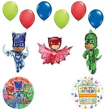 Amazon.com: Mayflower Products PJ - Máscaras de cumpleaños ...