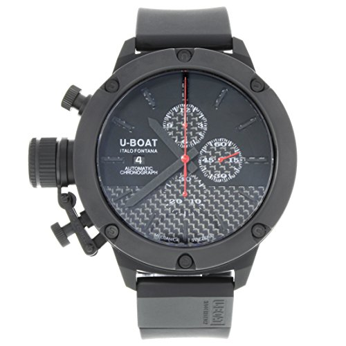 U-Boat Men's 6549 Classico 53 Titanium IPB Chrono Watch