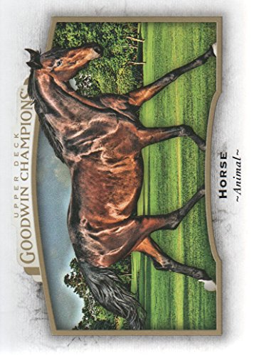 2017 Upper Deck Goodwin Champions #63 Horse Animal from Upper Deck Goodwin Champions