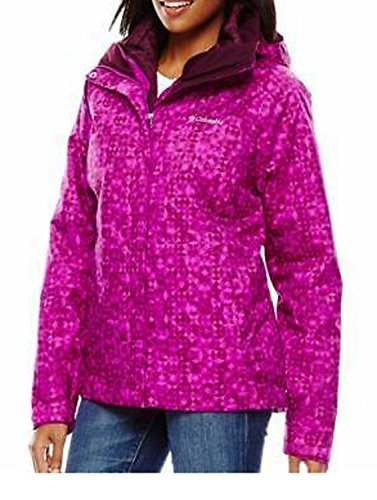 UPC 888667000072, Womens Columbia Cabin Chills Fever EXS Hooded Interchange 3 in 1 Winter Jacket (Small)