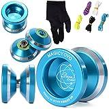 XCSOURCE Magic YOYO N8 Alloy Aluminum Yo Yo Bearing Reel + 5 Strings + Glove TH107