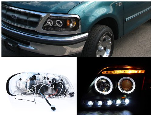Amazon Com Spec D Tuning 2lhp F15097jm Tm Ford F150 Led Dual Halo