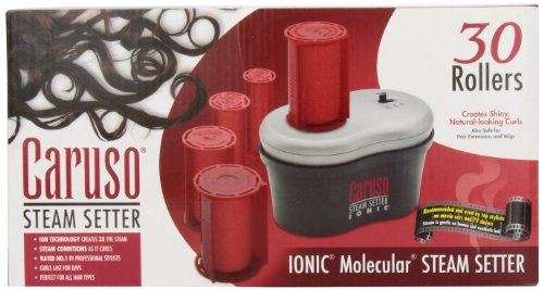 Caruso Professional IONIC Molecular 30-Piece Multiple Size Steam Hair Setter by Caruso (Image #2)