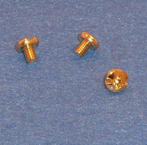 Yamaha Sax Gold Genuine Screws Keyguards from East Coast Instruments