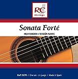 Royal Classics SF70 Sonata Forte High Tension Classical Guitar Strings, Full Set