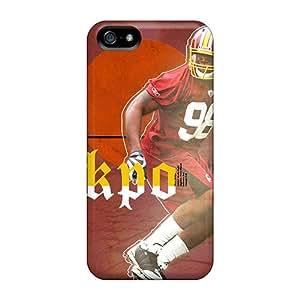 Hard Plastic Iphone 5/5s Case Back Cover,hot Washington Redskins Case At Perfect Diy