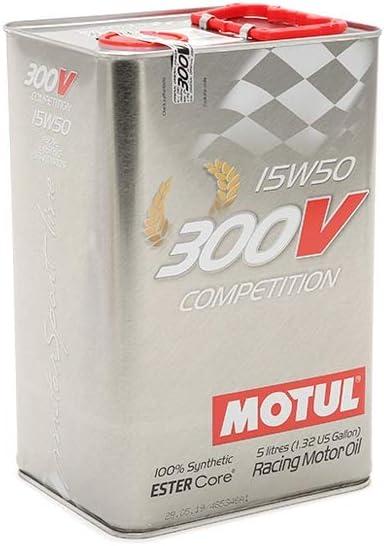 Motul 103920 Motoröl 300 V Competition 15w 50 5 L Auto