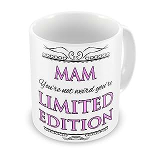 Mam no seguro que estás raro de edición limitada diseño de taza - rosa