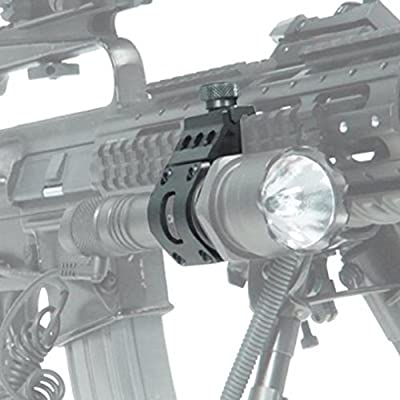 Fenix Tactical Weapon Accessory Set for TK15, TK15C, TK22, PD35, UC35: Pressure Switch, Offset Rail Mount and Batteries