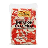 Sea Best Imitation Flake Crabmeat, 2.5 Pound (Pack of 12)