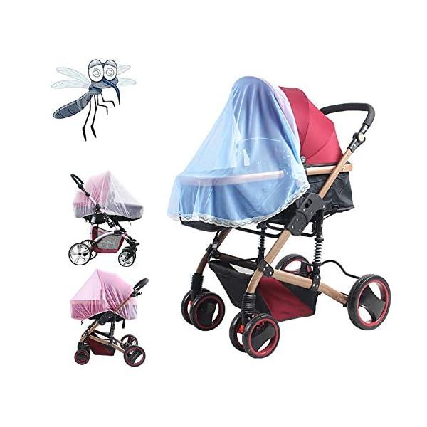 1 Pz Hot Full Outdoor Baby Infant Passeggini per bambini Passeggino Zanzara Insect Net Mesh Buggy Cover Baby Zanzariera 7 spesavip