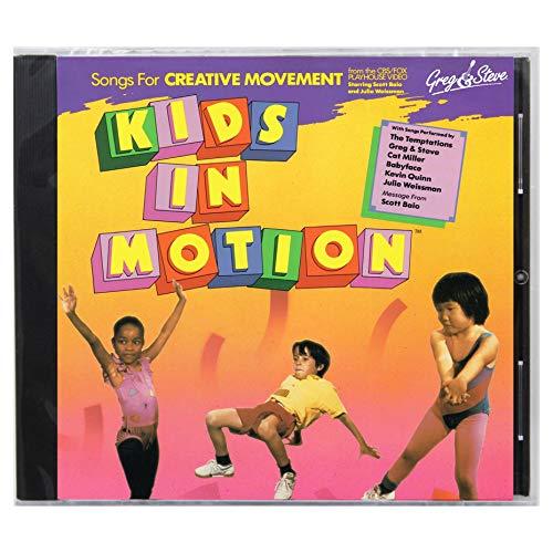 (Greg & Steve Productions YM-008CD Greg & Steve: Kids in Motion CD)